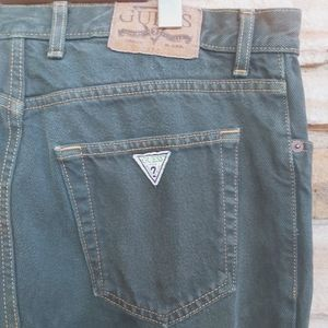 Vintage Emerald Guess 90's Y2K High Rise Jeans